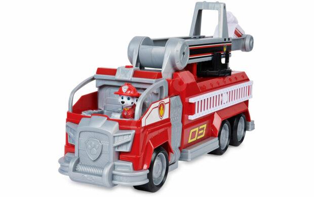 Gasilsko vozilo Marshall transforming City Firetruck, Paw Patrol, set-4