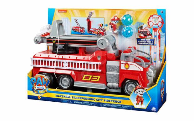 Gasilsko vozilo Marshall transforming City Firetruck, Paw Patrol, set-6