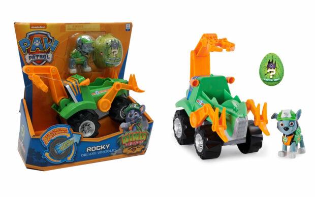 Vozila Paw Patrol Dino rescue s figuro, set-1