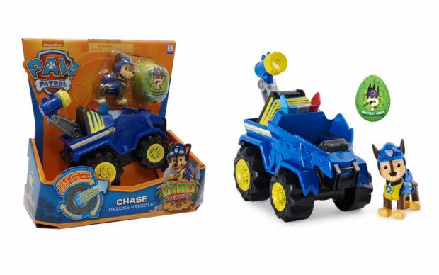 Vozila Paw Patrol Dino rescue s figuro, set-3