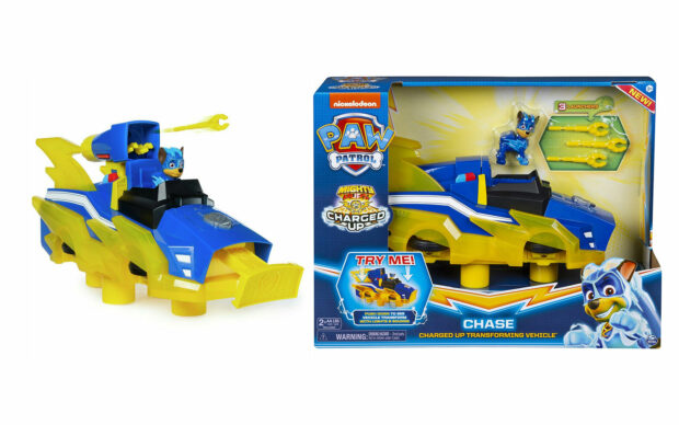 Vozilo Paw Patrol Chase Charged Up Transforming Vehicle, set