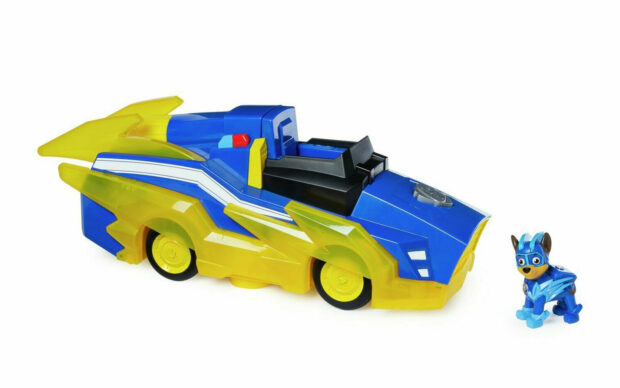 Vozilo Paw Patrol Chase Charged Up Transforming Vehicle, set-2