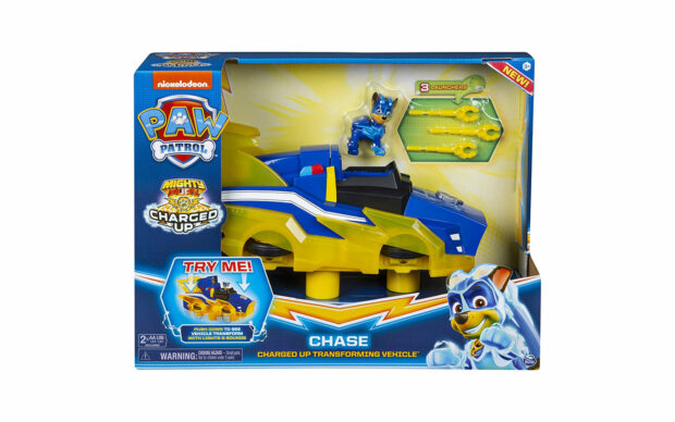 Vozilo Paw Patrol Chase Charged Up Transforming Vehicle, set-4