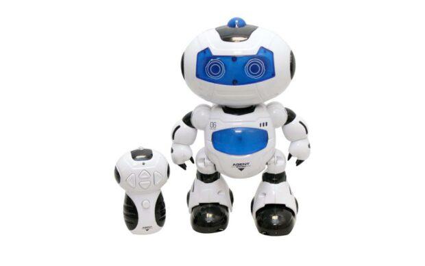 Baterijski robot Agent, 22 cm-1