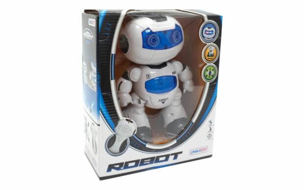 Baterijski robot Agent, 22 cm-2
