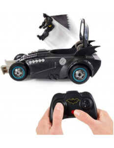 Batmanovo vozilo Batmobile s figurico, na daljinsko upravljanje (2)