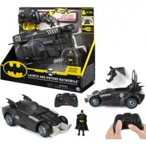 Batmanovo vozilo Batmobile s figurico, na daljinsko upravljanje (3)