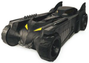 Figura Bat-tech Batman z vozilom Batmobile, 30 cm-1