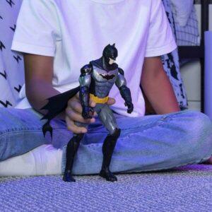 Figura Bat-tech Batman z vozilom Batmobile, 30 cm-2