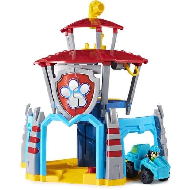 Kontrolni-stolp-Dino-Rescue-HQ-z-vozilom-Paw-Patrol-set-5