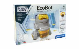 Robot Ecorobot, sesalec, na baterije, Clementoni-Poškodovana embalaža