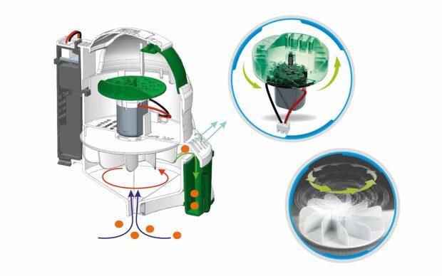 Robot Ecorobot, sesalec, na baterije, Clementoni-Poškodovana embalaža-2