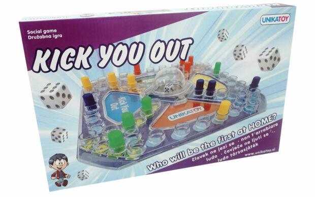 Igra Človek ne jezi se, 2 - 4 igralci, Unikatoy-Poškodovana embalaža