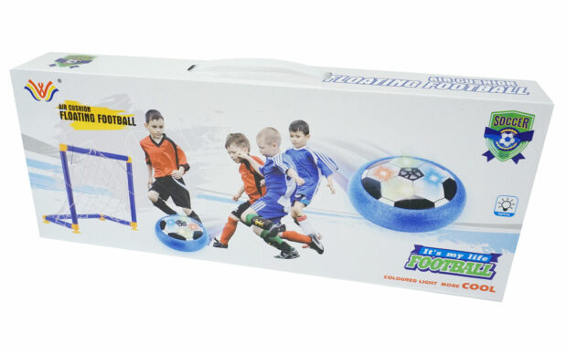Žoga zrak 14 cm + gol-Poškodovana embalaža-2