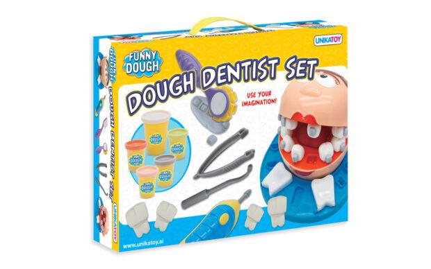 Plastelin Dentist, set, Unikatoy