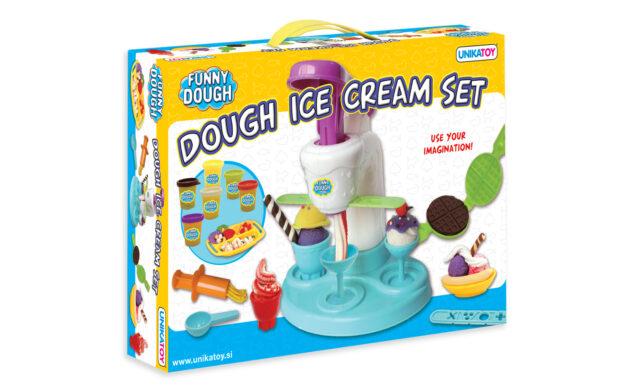 Plastelin Ice Cream, set, Unikatoy