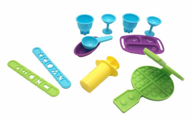 Plastelin Ice Cream, set, Unikatoy-2