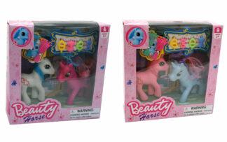 Konj Pony Beauty, 2 kosa, set
