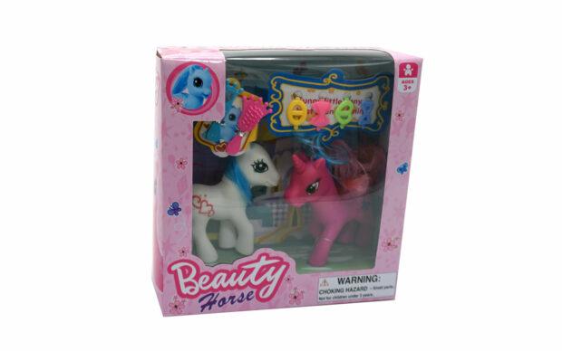 Konj Pony Beauty, 2 kosa, set-2