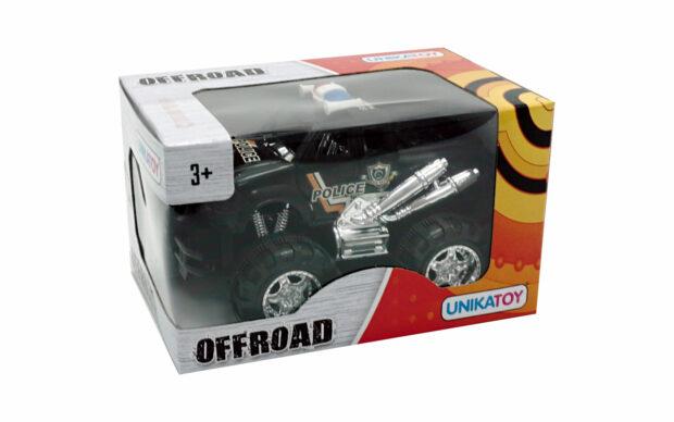 Džip offroad-Unikatoy, 15 cm-Poškodovana embalaža-4